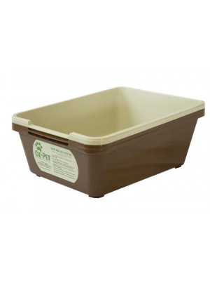 Jumbo-Maxi Tray Set - Beige/Brown 3 piece