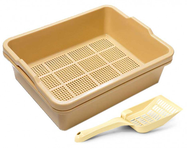 2 Piece Sieve Tray Set Plus Scoop
